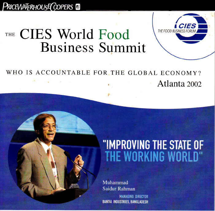 The CIES World Food Buisness Summit (Video)